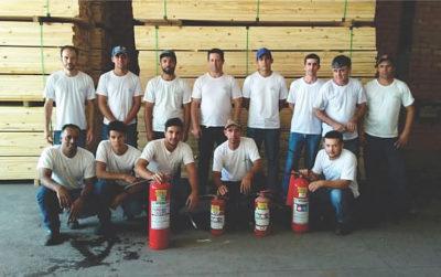 Sguario Indústria realiza treinamento de Brigada de Incêndios