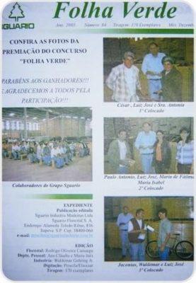 1° layout - 1ª edição publicada em setembro/03